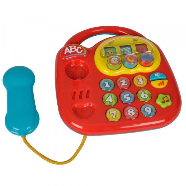 Jucarie Simba ABC Telefon muzical rosu [0]