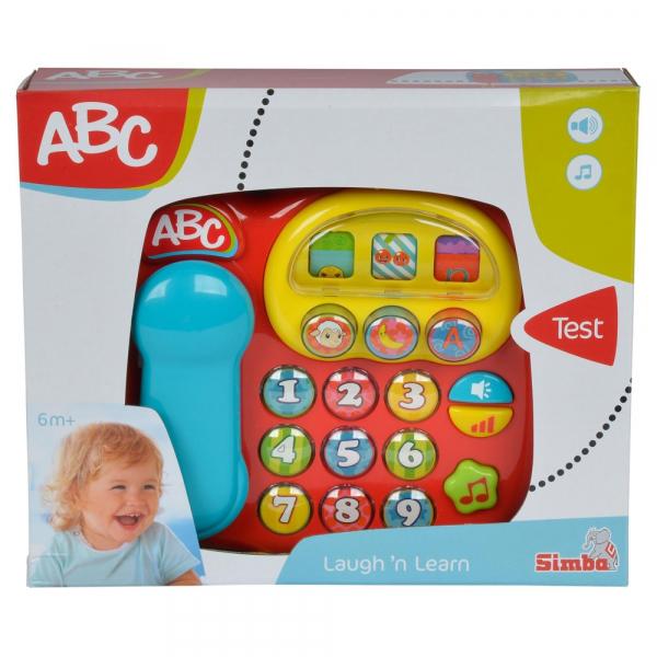Jucarie Simba ABC Telefon muzical rosu [1]