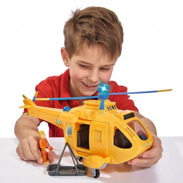 Jucarie Simba Elicopter Fireman Sam Wallaby 2 cu figurine si accesorii 9