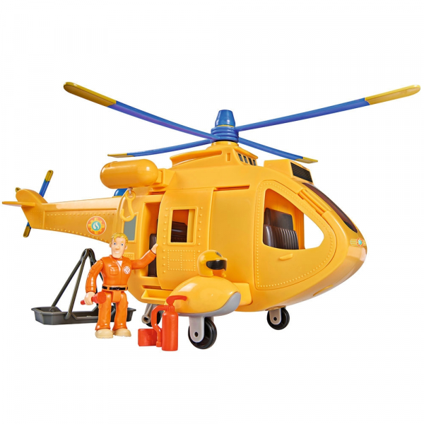 Jucarie Simba Elicopter Fireman Sam Wallaby 2 cu figurine si accesorii 0