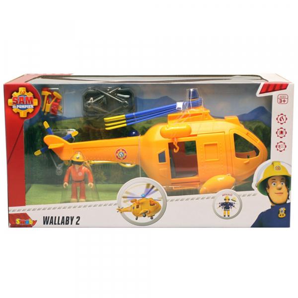 Jucarie Simba Elicopter Fireman Sam Wallaby 2 cu figurine si accesorii 10