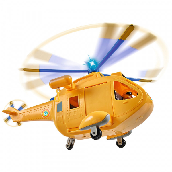 Jucarie Simba Elicopter Fireman Sam Wallaby 2 cu figurine si accesorii 3