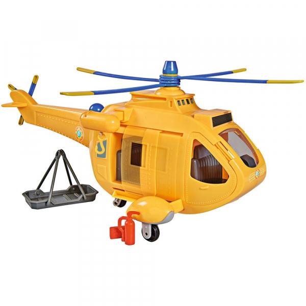 Jucarie Simba Elicopter Fireman Sam Wallaby 2 cu figurine si accesorii 6