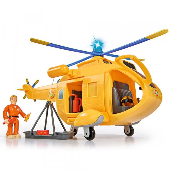 Jucarie Simba Elicopter Fireman Sam Wallaby 2 cu figurine si accesorii 5