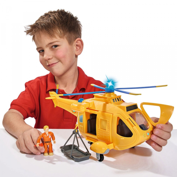 Jucarie Simba Elicopter Fireman Sam Wallaby 2 cu figurine si accesorii 8