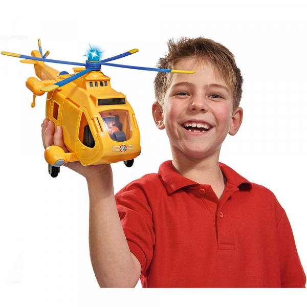 Jucarie Simba Elicopter Fireman Sam Wallaby 2 cu figurine si accesorii 7