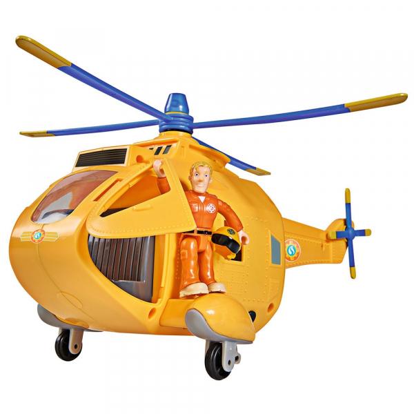 Jucarie Simba Elicopter Fireman Sam Wallaby 2 cu figurine si accesorii 2