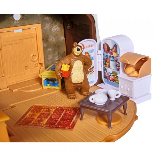 Jucarie Simba Masha and the Bear Winter Bear's House 2