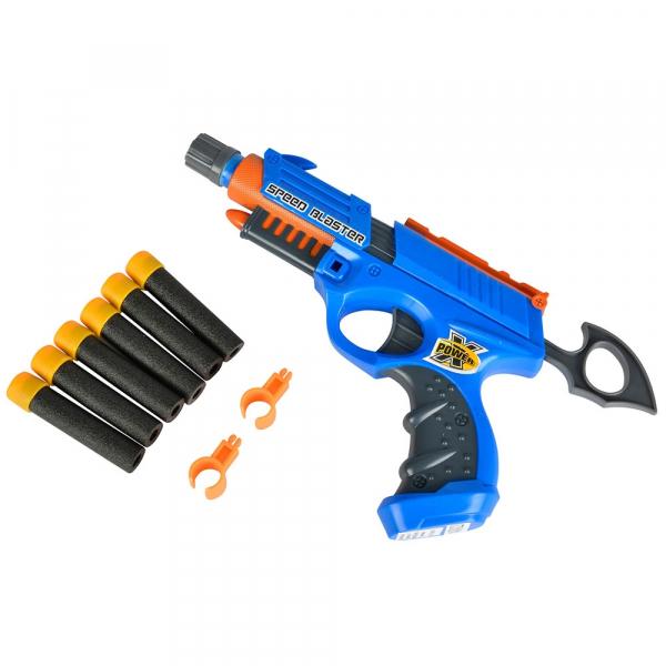 Jucarie Simba Pistol X-Power Speed Blaster cu 6 proiectile [0]