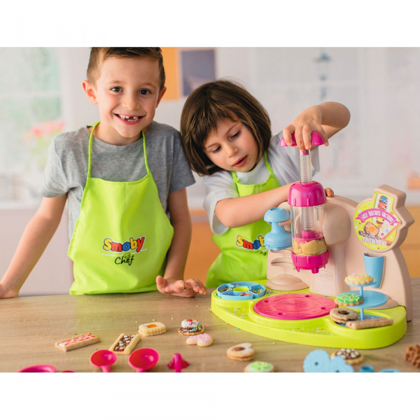 Jucarie Smoby Aparat pentru preparare biscuiti Chef Easy Biscuits Factory cu accesorii [5]