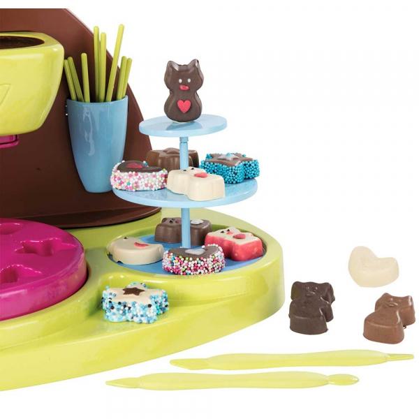 Jucarie Smoby Aparat pentru preparare ciocolata Chef cu accesorii [4]
