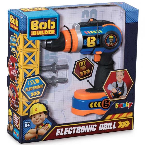 Jucarie Smoby Bormasina electrica Bob Constructorul 4