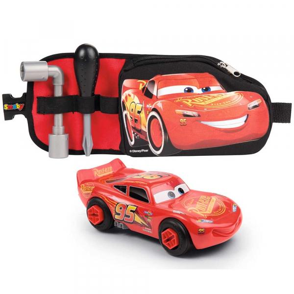 Jucarie Smoby Centura Cars 3 cu unelte si masinuta McQueen [0]