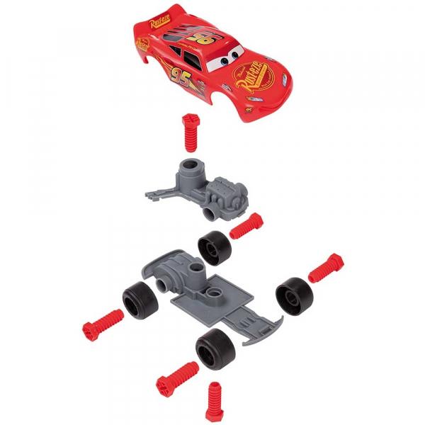 Jucarie Smoby Centura Cars 3 cu unelte si masinuta McQueen [1]