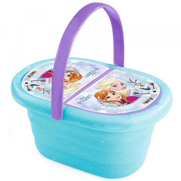Jucarie Smoby Cos picnic si set vesela Frozen cu 21 de accesorii [1]