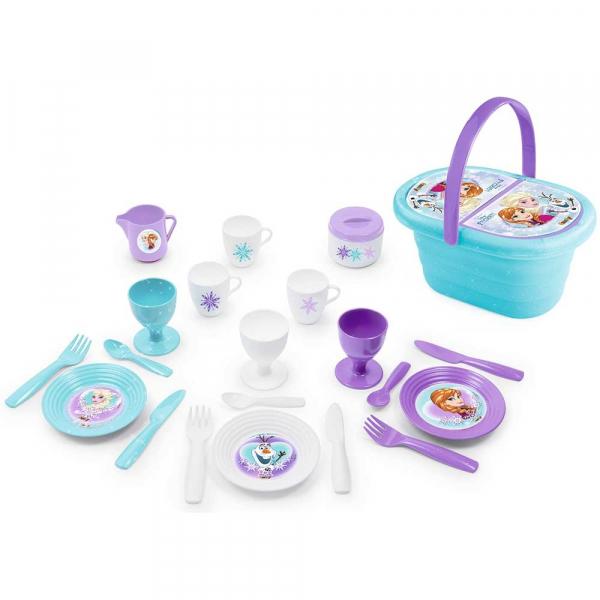 Jucarie Smoby Cos picnic si set vesela Frozen cu 21 de accesorii [0]