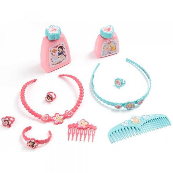 Jucarie Smoby Masuta de machiaj Disney Princess 2 in 1 cu accesorii [1]