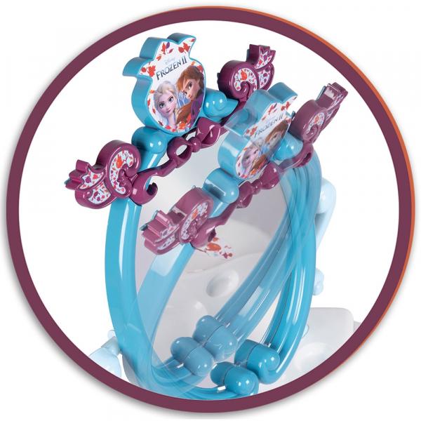 Jucarie Smoby Masuta de machiaj Frozen 2 2 in 1 cu accesorii 3