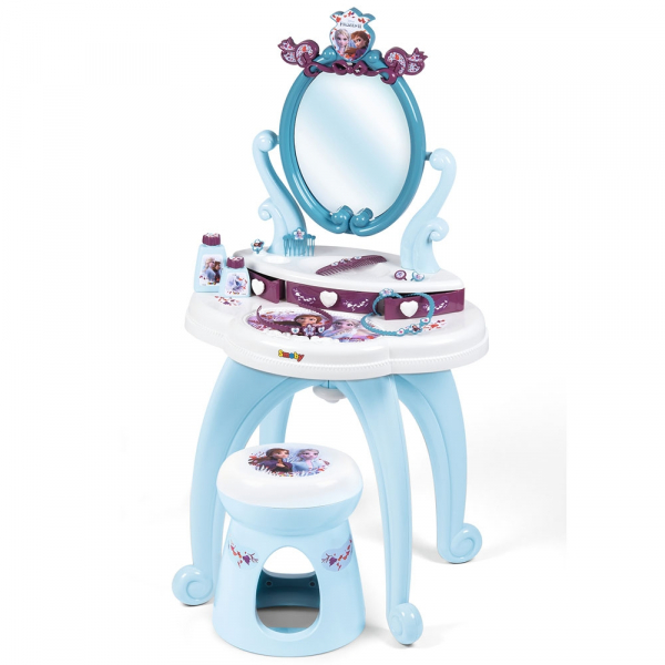 Jucarie Smoby Masuta de machiaj Frozen 2 2 in 1 cu accesorii 0