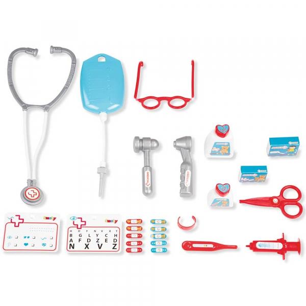 Jucarie Smoby Set doctor cu carucior 1