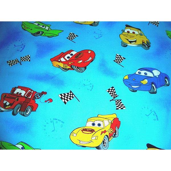 Lenjerie patut Hubners Cars 4 piese albastru [1]