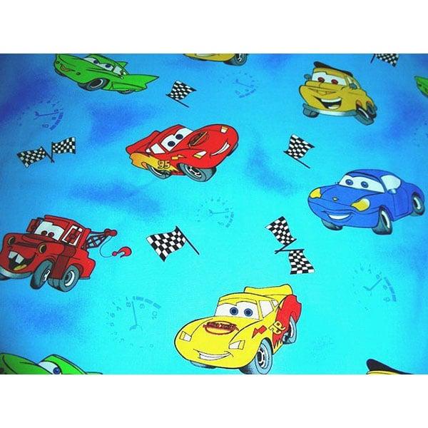 Lenjerie patut Hubners Cars 5 piese albastru 1