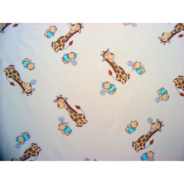 Lenjerie patut Hubners Girafa 5 piese crem 3
