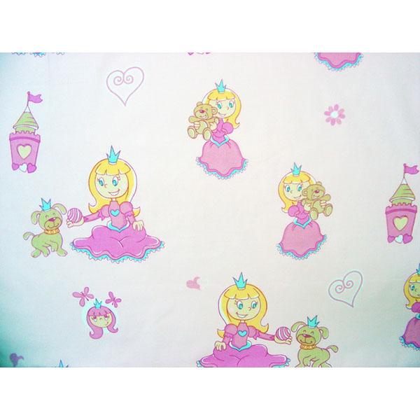 Lenjerie patut Hubners Printesa cu Ursulet 4 piese roz [1]
