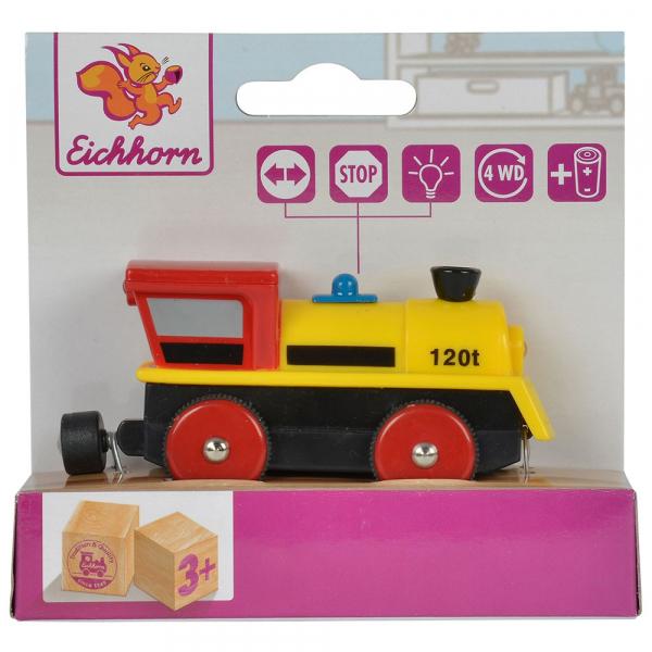 Locomotiva din lemn Eichhorn 120T 2