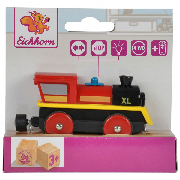 Locomotiva din lemn Eichhorn XL 4