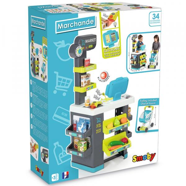 Magazin pentru copii Smoby Marchande cu accesorii [6]