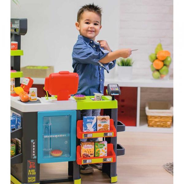 Magazin pentru copii Smoby Maxi Market cu accesorii 8