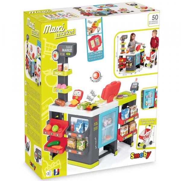 Magazin pentru copii Smoby Maxi Market cu accesorii 13