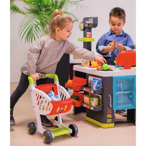 Magazin pentru copii Smoby Maxi Market cu accesorii 12