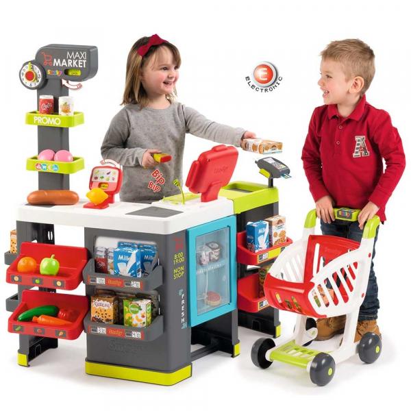 Magazin pentru copii Smoby Maxi Market cu accesorii 6