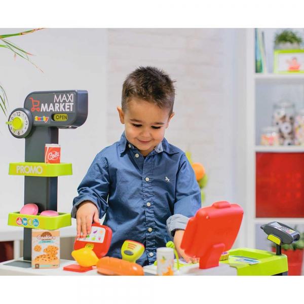 Magazin pentru copii Smoby Maxi Market cu accesorii 7