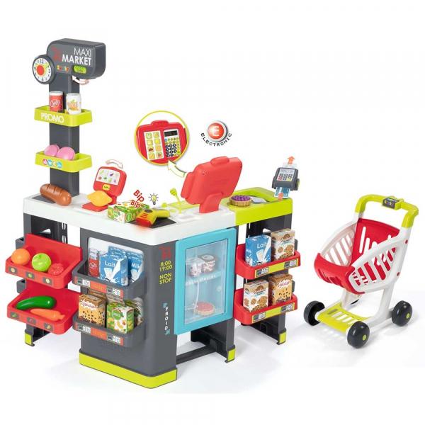 Magazin pentru copii Smoby Maxi Market cu accesorii 0