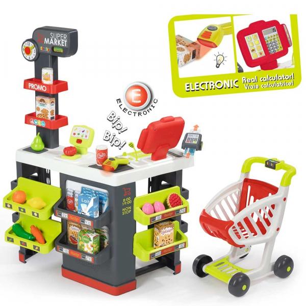 Magazin pentru copii Smoby Super Market cu accesorii [0]