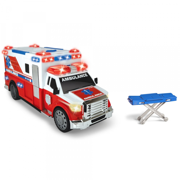Masina ambulanta Dickie Toys Ambulance DT-375 cu accesorii 1