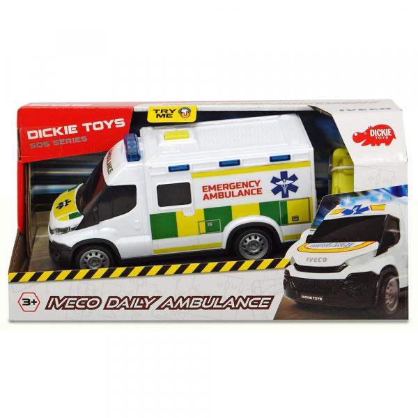 Masina ambulanta Dickie Toys Iveco Daily Ambulance 1