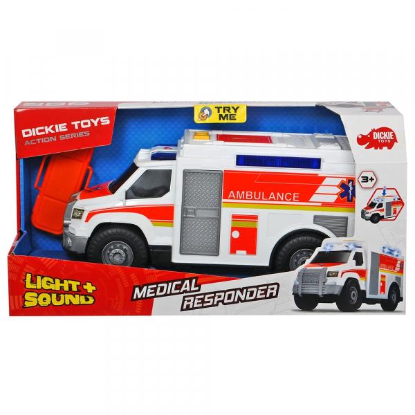 Masina ambulanta Dickie Toys Medical Responder cu accesorii 6