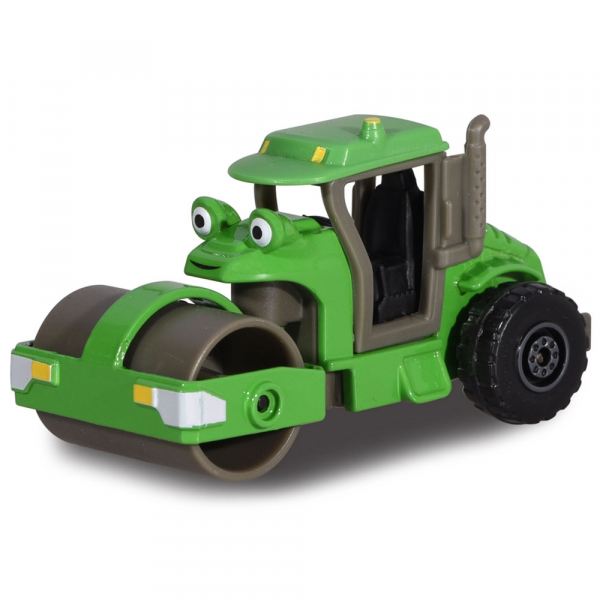 Masina cilindru compactor Dickie Toys Bob Constructorul Roley 0