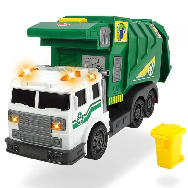 Masina de gunoi Dickie Toys City Cleaner cu accesorii 0