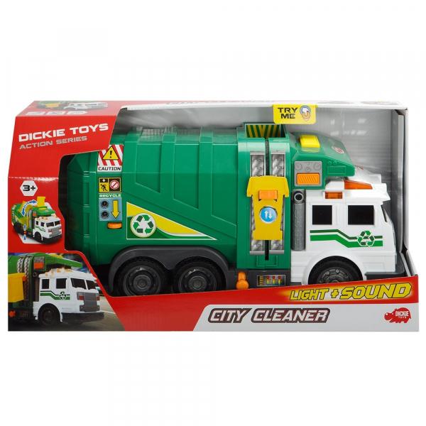 Masina de gunoi Dickie Toys City Cleaner cu accesorii 1