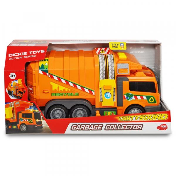 Masina de gunoi Dickie Toys Garbage Collector cu accesorii 1