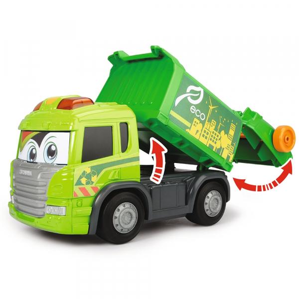 Masina de gunoi Dickie Toys Happy Scania Truck 6