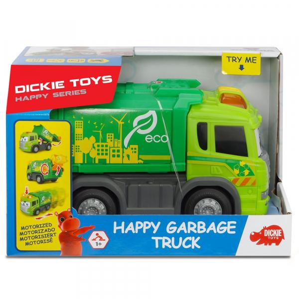 Masina de gunoi Dickie Toys Happy Scania Truck 8