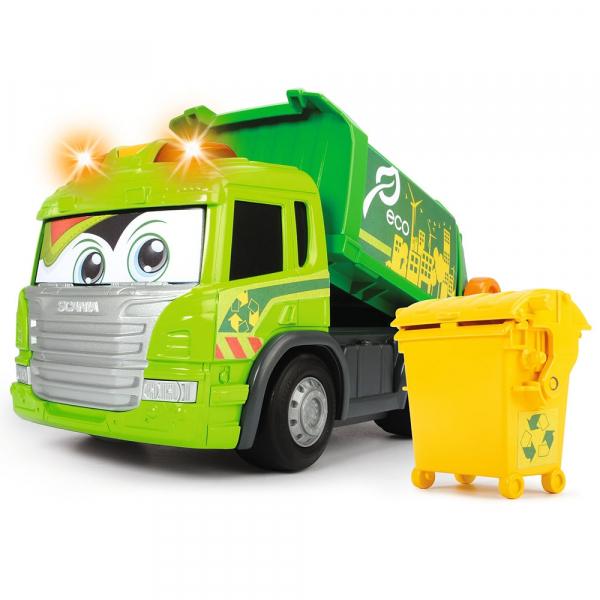 Masina de gunoi Dickie Toys Happy Scania Truck 0