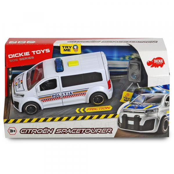 Masina de politie Dickie Toys Citroen SpaceTourer cu radar de viteza [1]