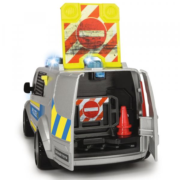 Masina de politie Dickie Toys Ford Transit 2